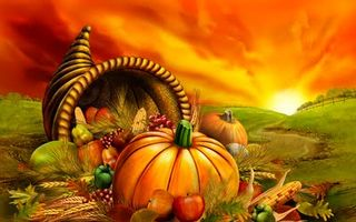 Thanksgiving_cornucopia_sunrise