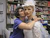 Carol kisses muriel