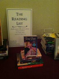 Romance Reading List