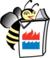 Bee logo.1.color