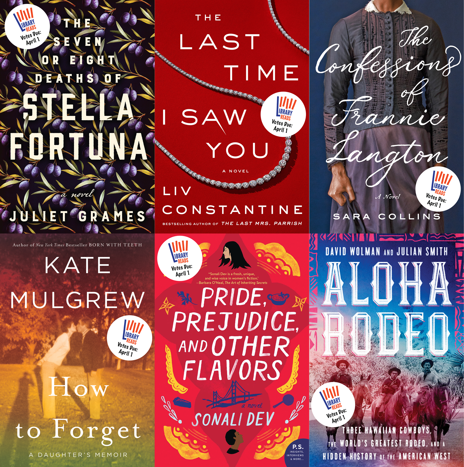 Library Love Fest: March 2019